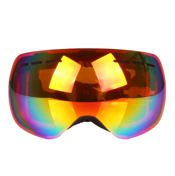 Best OTG Ski Goggles Spherical Mens Pink Sale