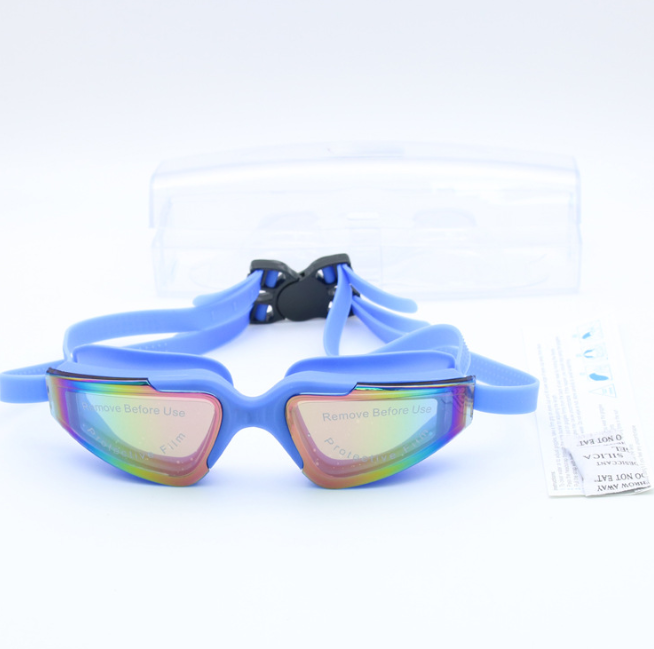 New Swimming Goggles For Adults Womens All Blue