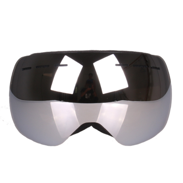 OTG Ski Goggles Spherical Mens Black Silver